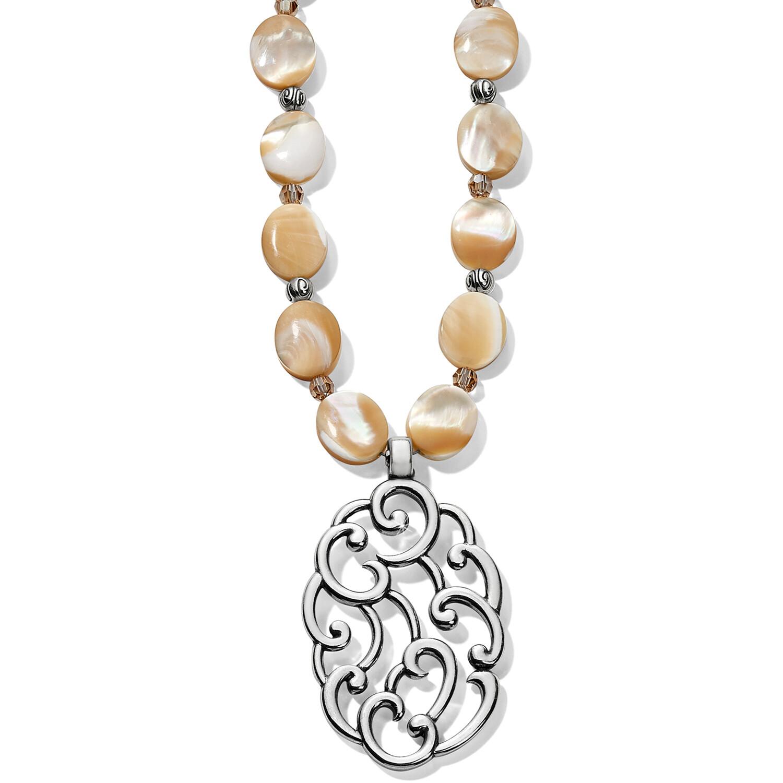 Brighton barbados nuvola shell long necklace