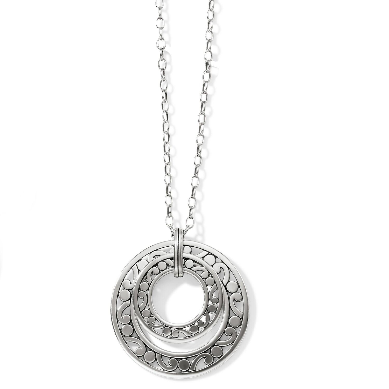 Brighton Contempo Open Ring Convertible Long Necklace