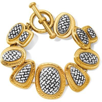 Brighton Ferrara artisan 2 tone bracelet