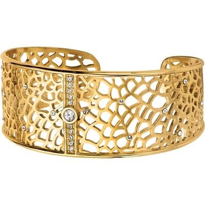 Brighton Fiji sparkle gold cuff