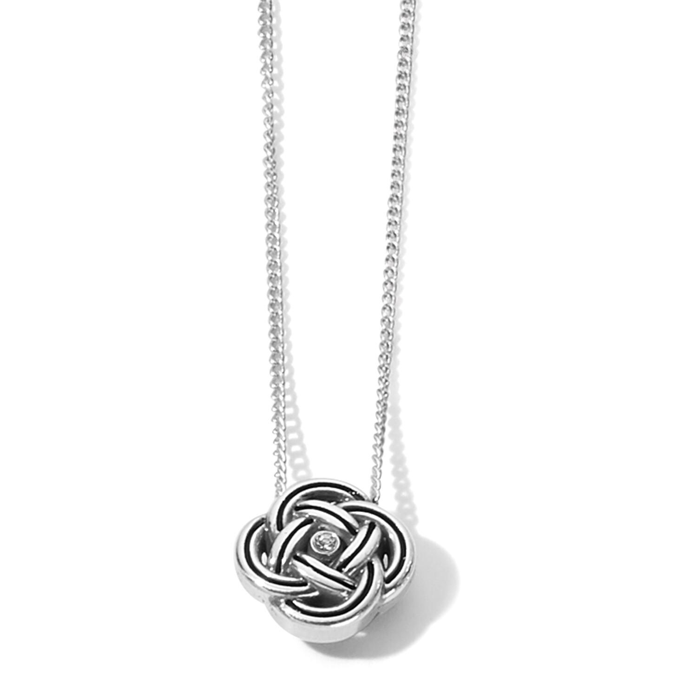 Brighton interlock mini necklace