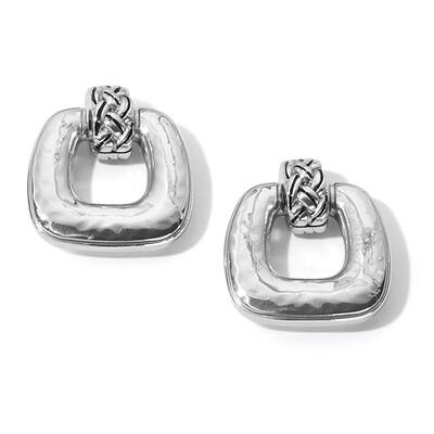 Brighton Interlok Woven Post Drop Earrings