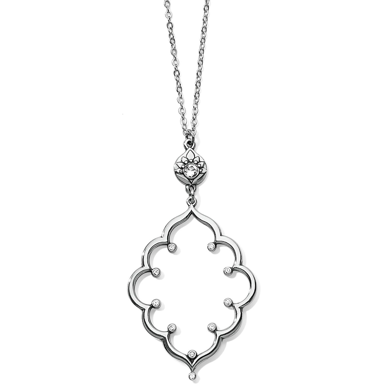 Brighton lotus pendant necklace