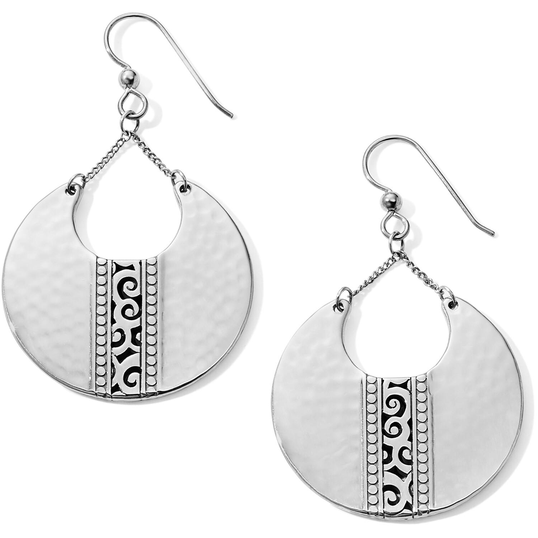 Brighton mingle disc large fr wr earring