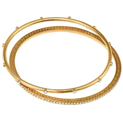 Brighton neptunes rings gold pave bangles