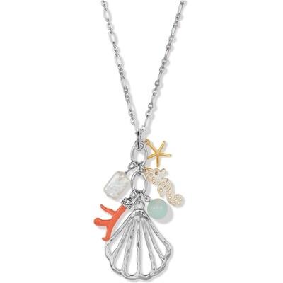 Brighton Paradise Cove Charm Necklace
