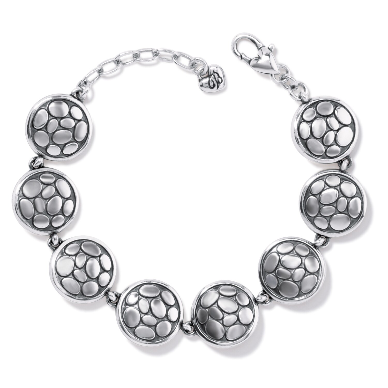 Brighton Pebble Round Link Bracelet
