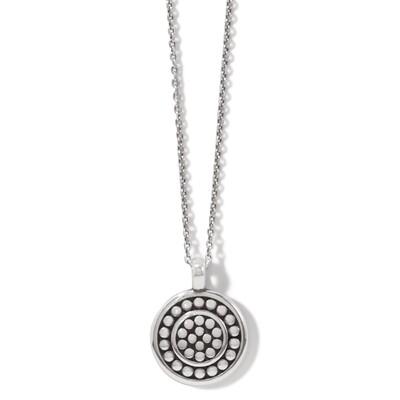 Brighton Pebble Round Reversible Petite Necklace