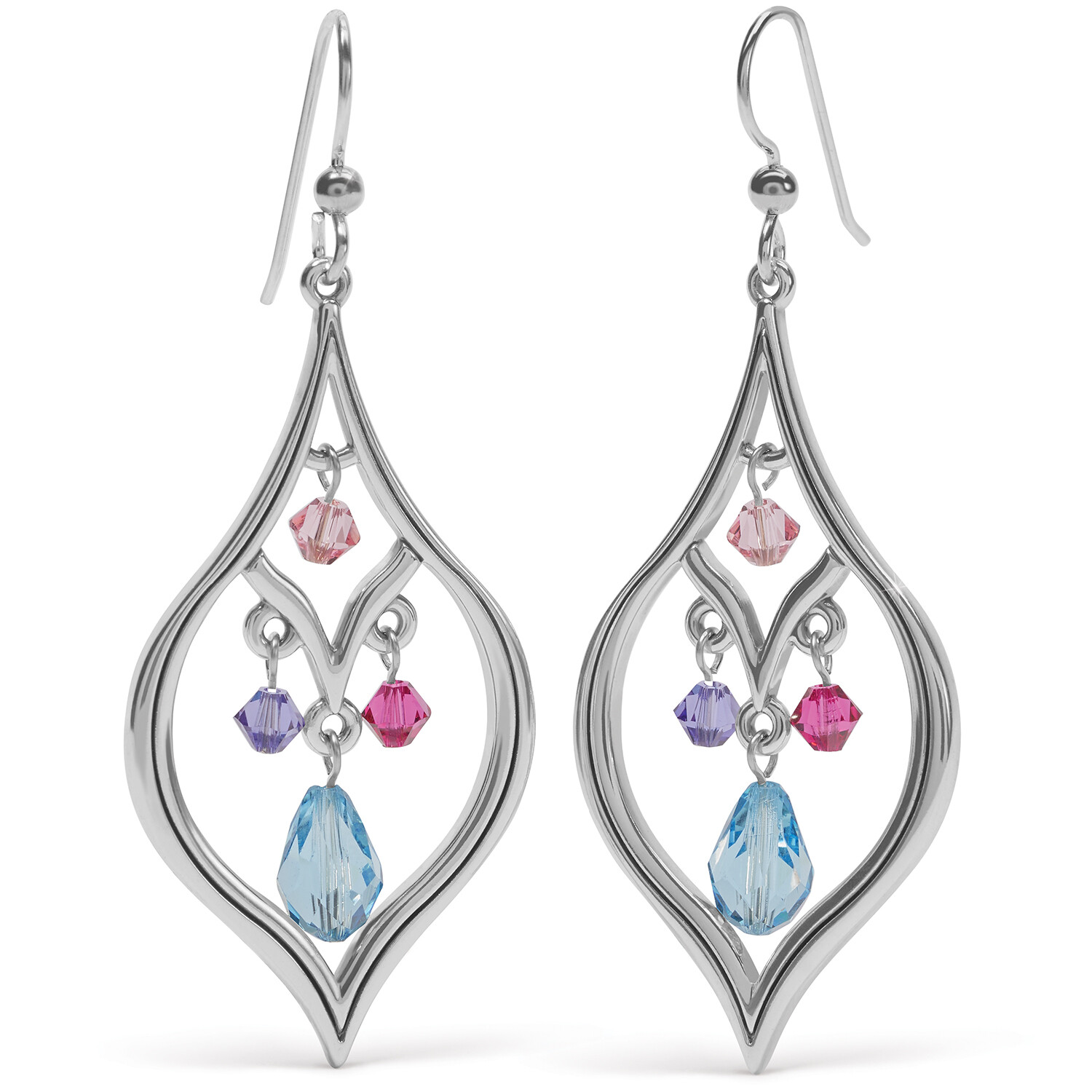 Brighton Prism lights drops french wire earring