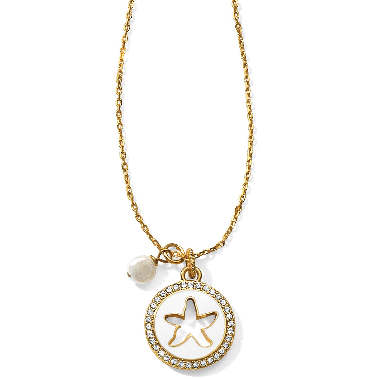 Brighton sea dreamer starfish petite necklace