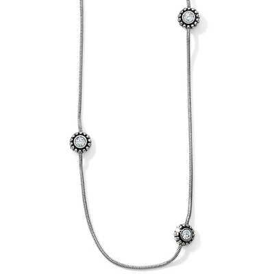Brighton Sil/Stn Twinkle Long Necklace