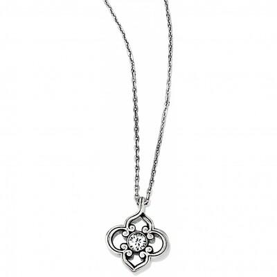 Brighton Sil/Stn Toledo Mini Necklace