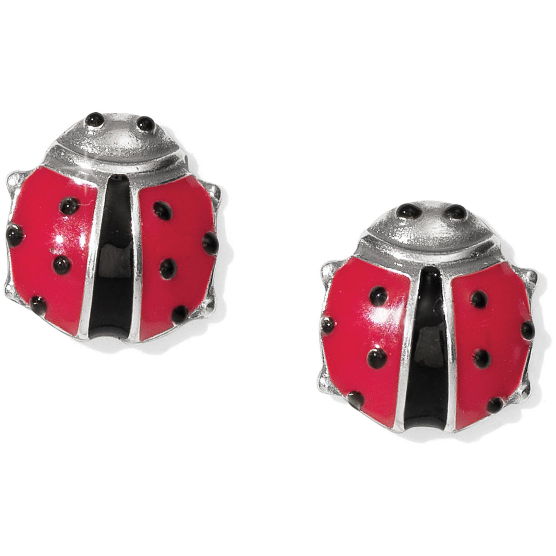Brighton Spring Ladybug mini post earring