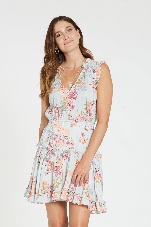 DJ Melodie Spring in bloom dress