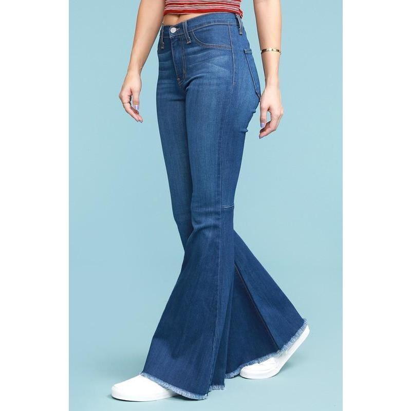 JB Hi-waist super flare jean