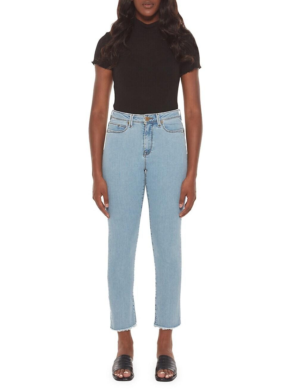 Lola Mid-Rise Straight jeans