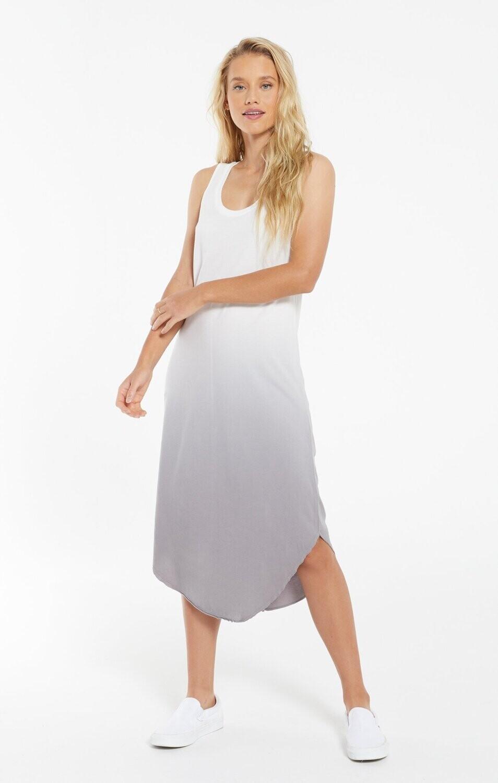 ZS Reverie Scoop Dip-Dye Dress