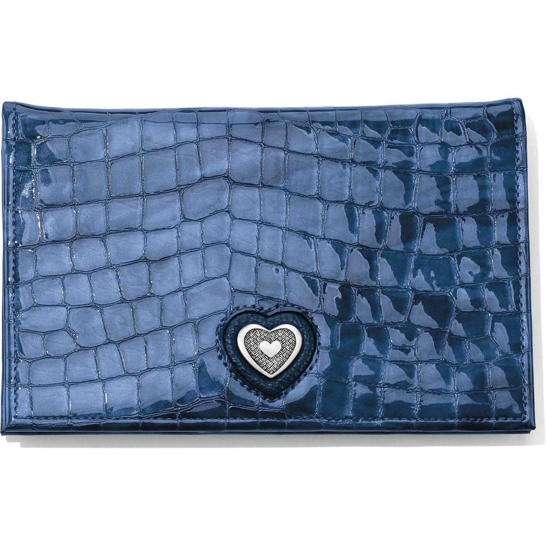 Brighton french blue blismo wallet