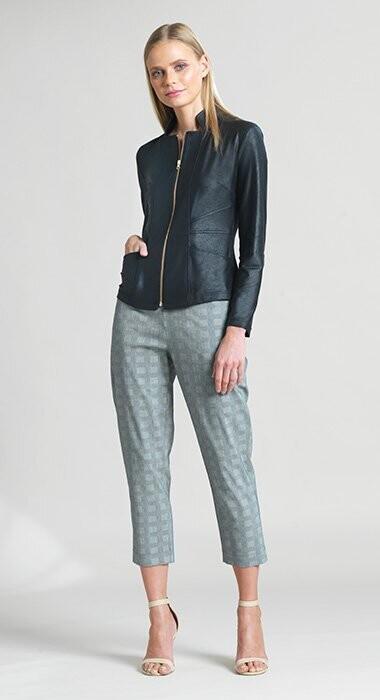 CSW Liquid Leather single zip Jacket