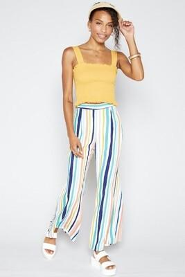 Sadie&sage streets of havana striped pants