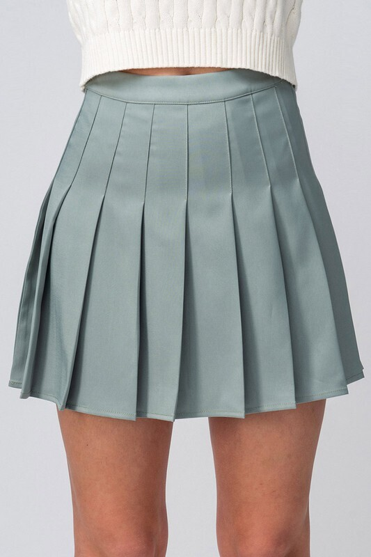 Trendnotes pleated tennis skirt