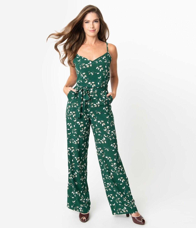 UV Floral Print Raleigh jumpsuit