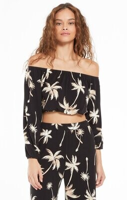 ZS Lei Tropical Palm Top