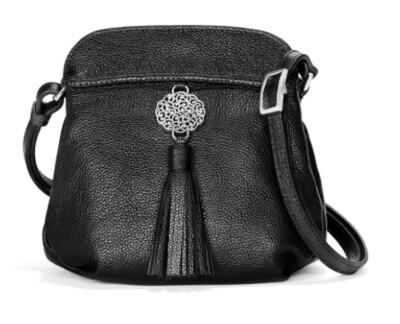 Brighton Black Park Tassel pouch