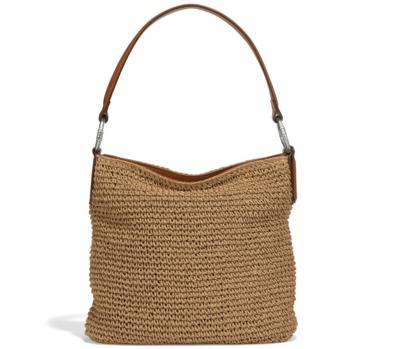 Brighton cher straw shoulder bag