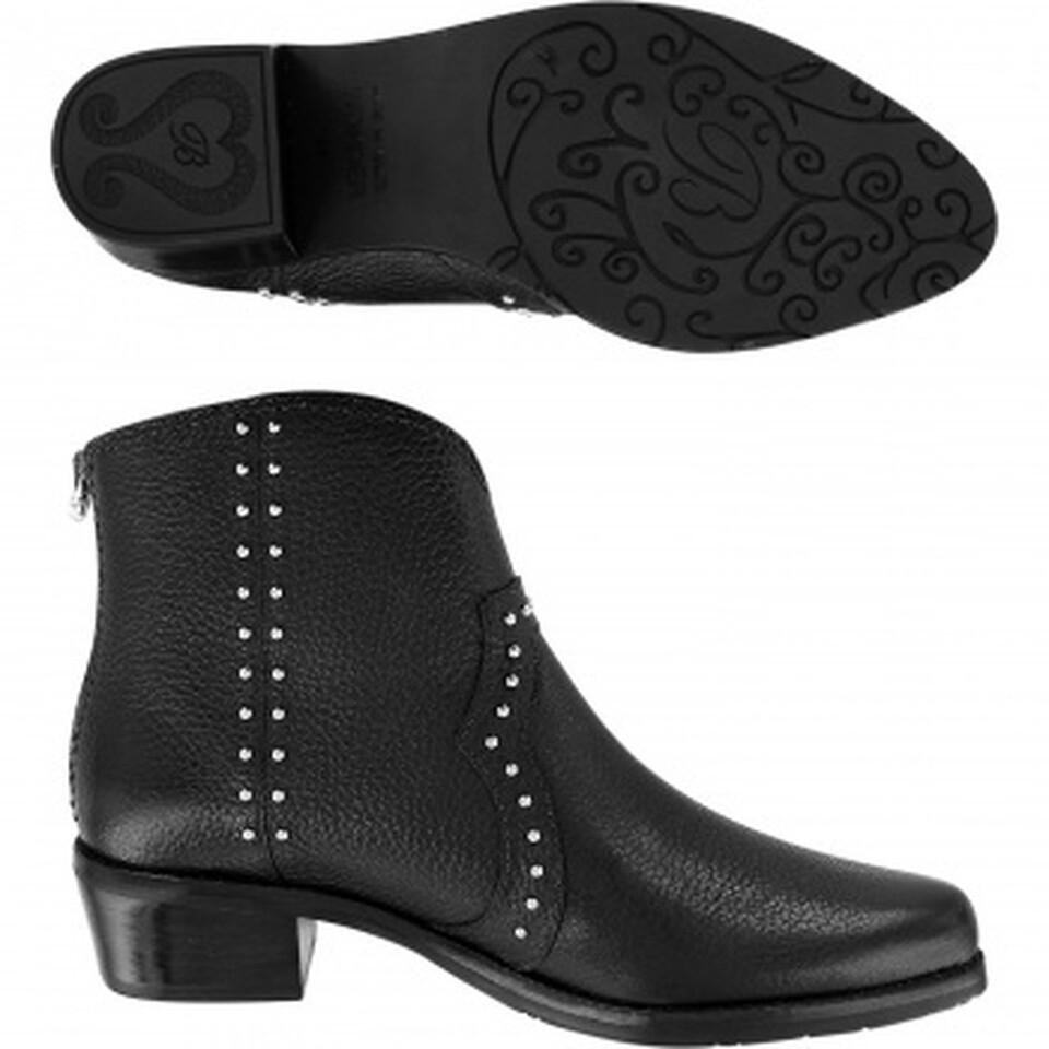 Brighton wonder black leather boots
