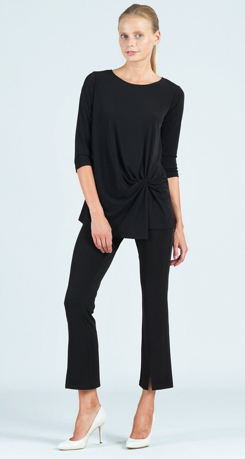 CSW Soft knit twist front detail tunic