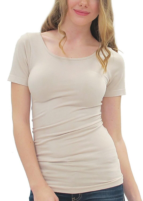 LTN short sleeve top w/round neck