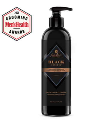 JackB Black Reserve Body wash