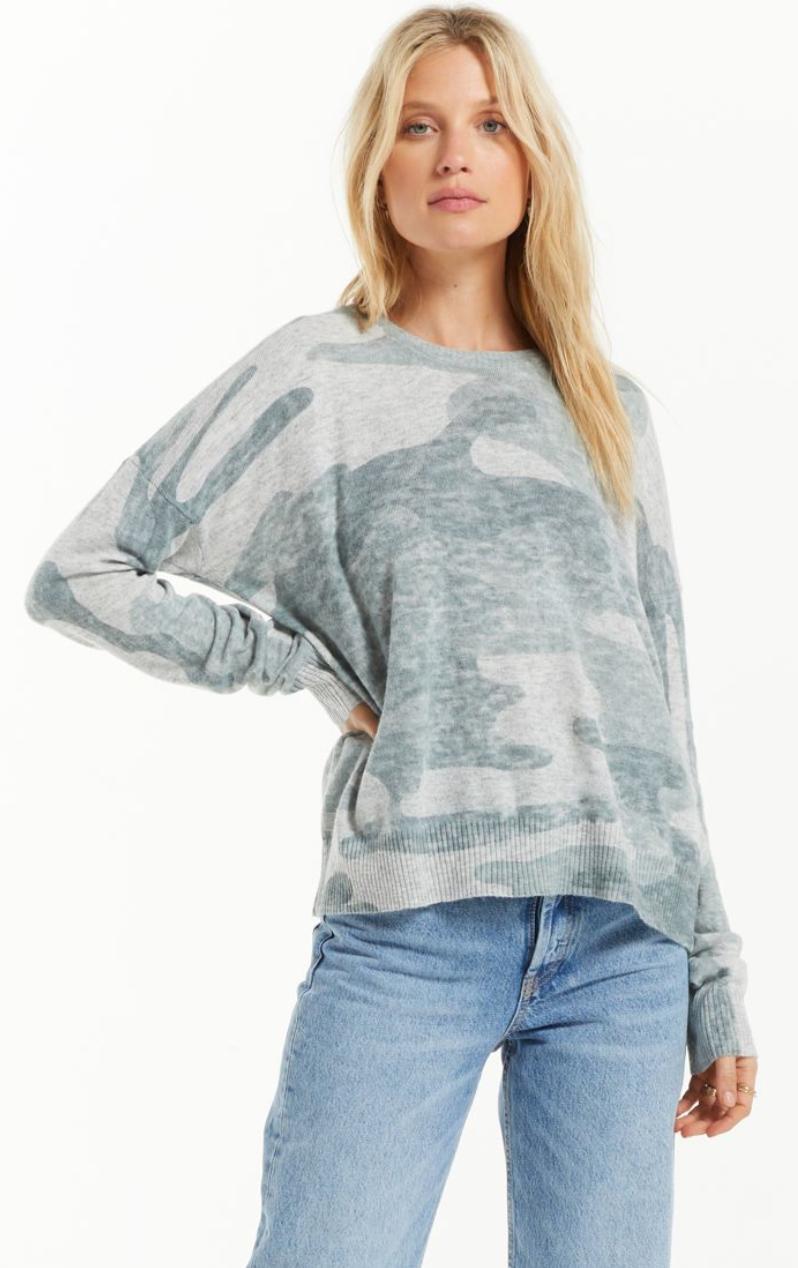 ZS Larisa Camo Sweater