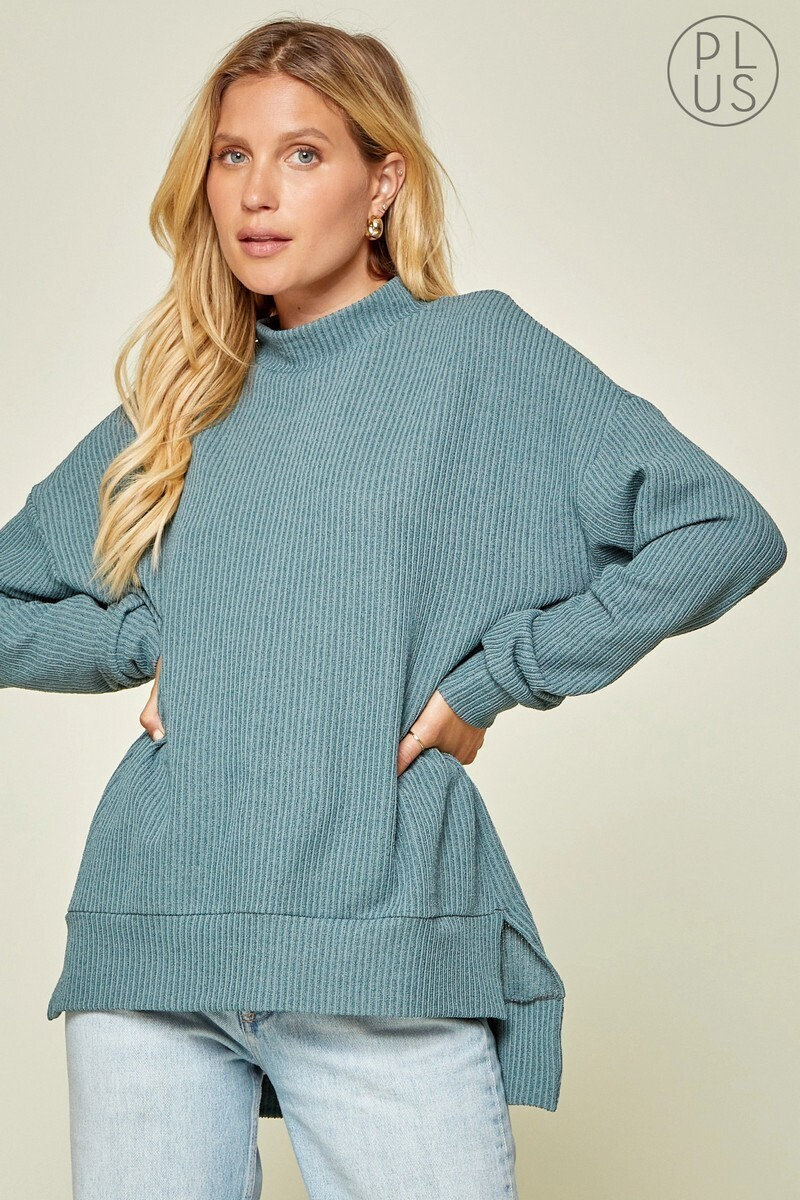 Andree Long sweater tunic