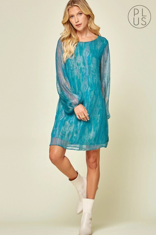 Andree Shimmer L/S dress