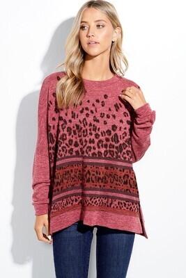 Phil Love Leopard sweater