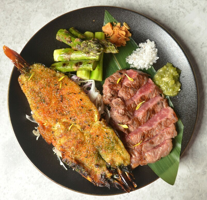Land & Sea Grilled Duo