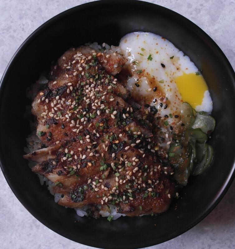 Yakiniku Iberico Pork Rice Bowl