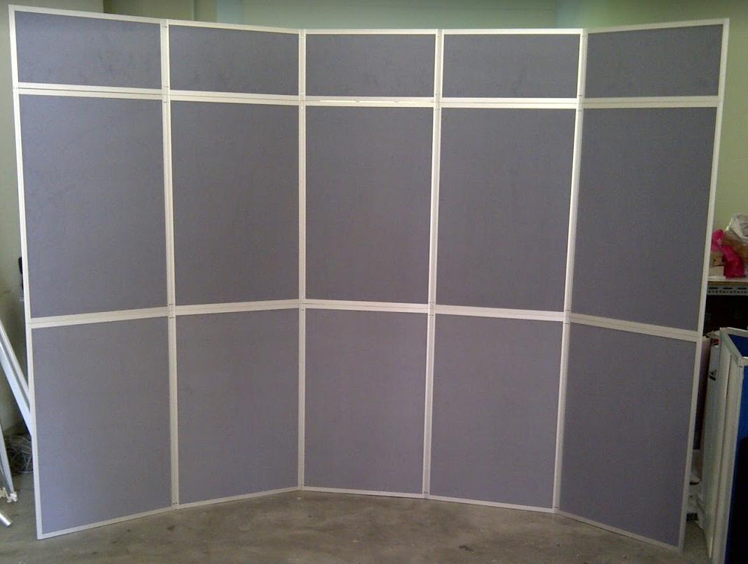 10 Panel 5 Header Folding Display Board