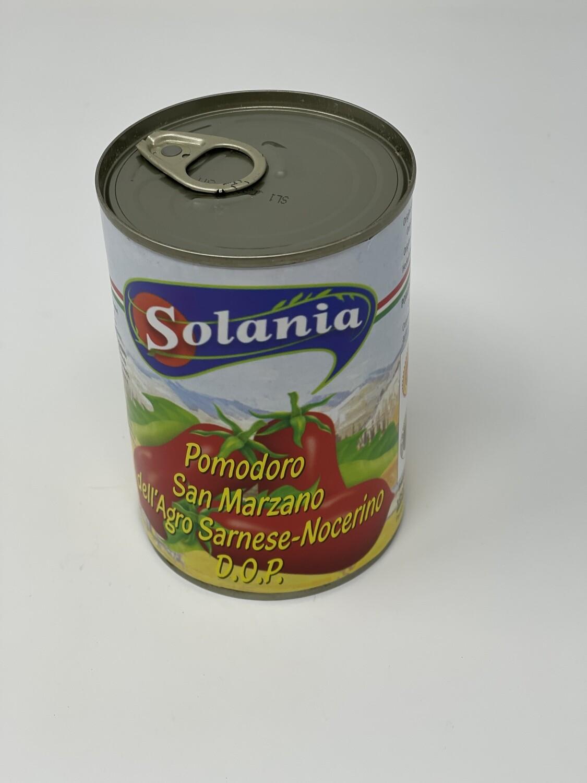 POMODORO SAN MARZANO DOP SOLANIA 400gr