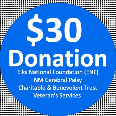$30 DonatIon!