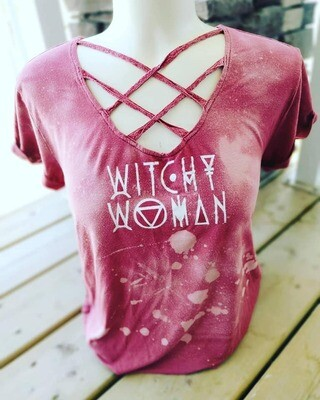 Witchy Woman Double Cross Tee