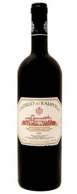 "1990 CASTELLO DEI RAMPOLLA ""SAMMARCO"" TOSCANA"
