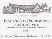 "2018 DOMAINE DE BELLENE BEAUNE 1ER CRU ""LES PERRIERES"""