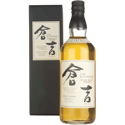 KURAYOSHI 18 YR PURE MALT JAPANESE WHISKY