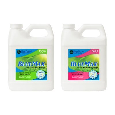 BlueMax 2-Part  Base Nutrients (Quart) 1quartduo