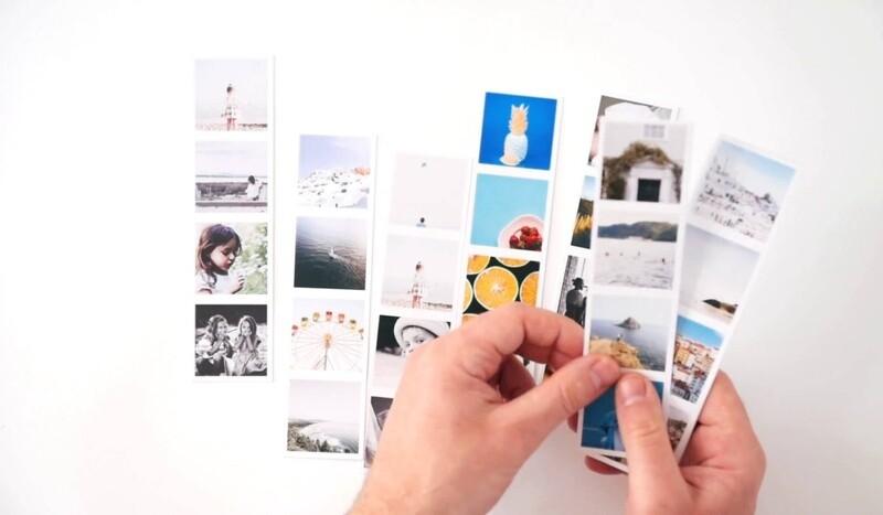 PHOTO STRIPS - Set of 8 strips