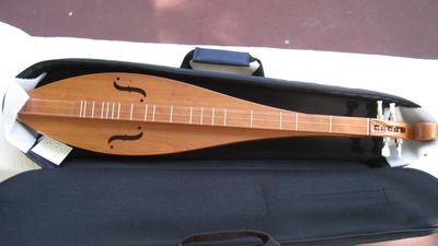 McSpadden All-Cherry Teardrop Mountain Dulcimer
