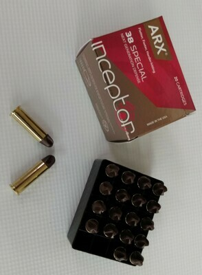 """ARX """"INCEPTOR"""" .38 Special Defense"""